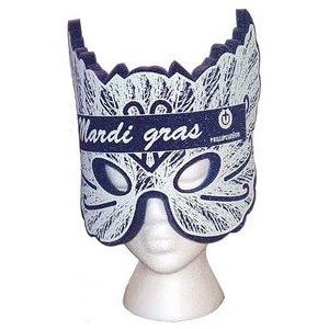 Mardi Gras Mask Hat